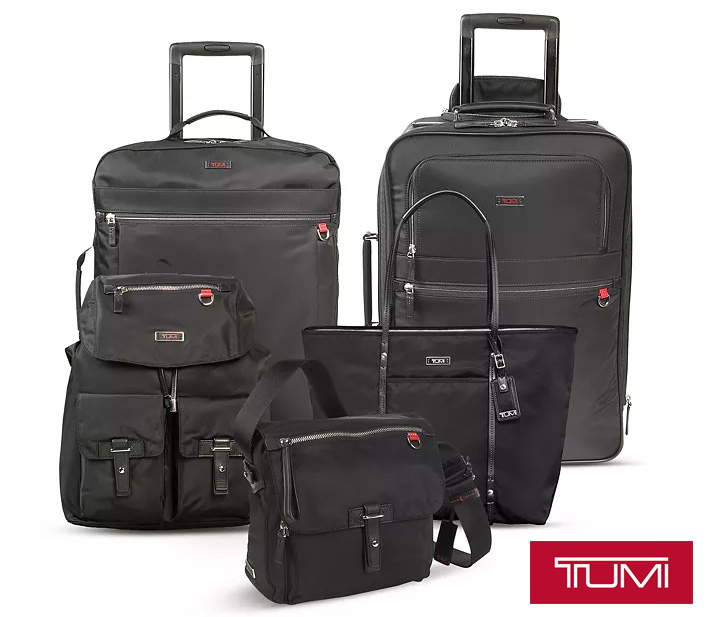 Win a three piece set of Tumi luggage