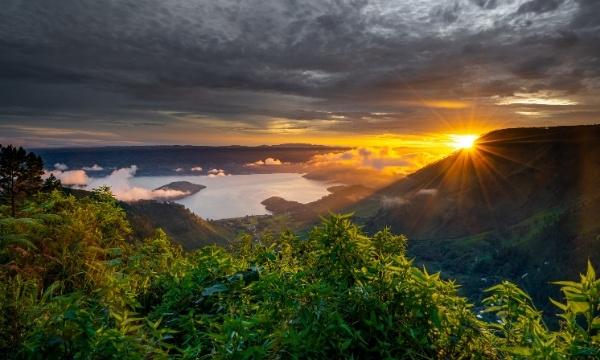 Indonesia Lake Toba