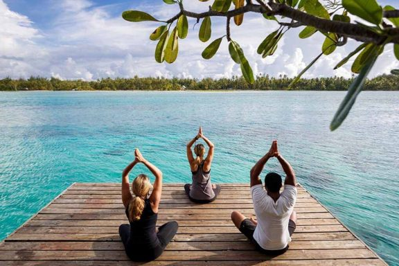 Tahiti: Journey of Renewal 2021. Daily Yoga, Meditation & Pampering in Tahaa, with Art In Voyage
