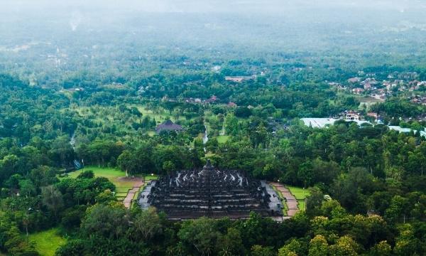 Romantic Borobudur Temple