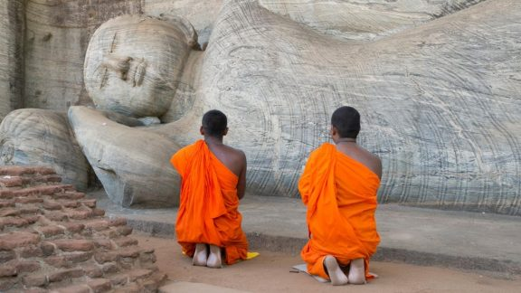 Snapshot of Sri Lanka Curated Travel Experience | Buddhist Monks | By Art In Voyage