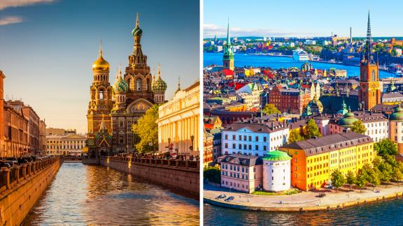 St Petersburg OR Stockholm?