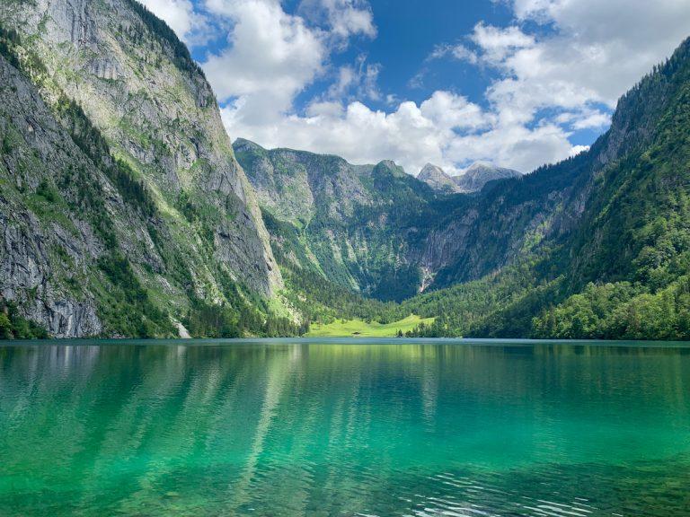 Alpine lake, Koenigssee