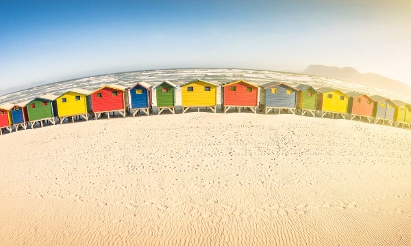 Best Warm Places To Visit In December - Muizenberg, South Africa | By Art In Voyage