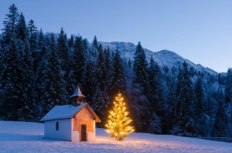 Christmas Chapel, by Art In Voyage