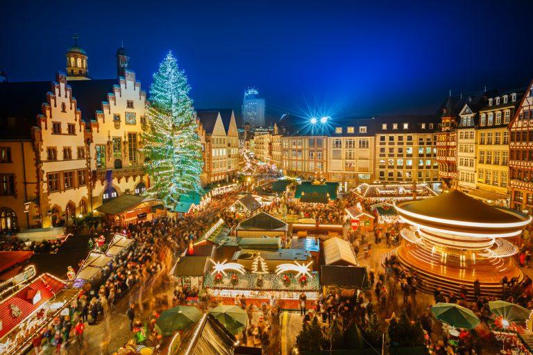 Market lights, Switzerland, by Art In Voyage