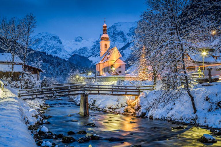 Church of Ramsau, Bavaria, by Art In Voyage
