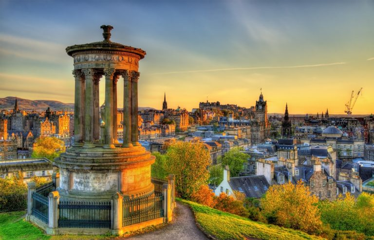 Scotland Edinburgh during sunset, by Art In Voyage
