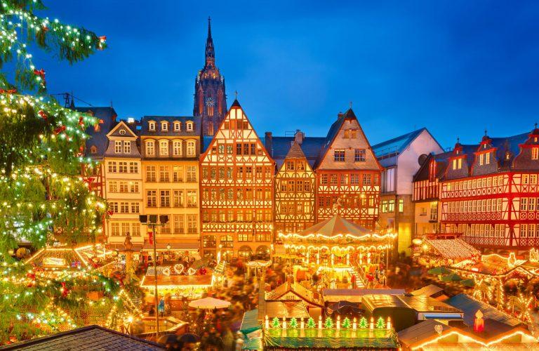 Century-old Christmas Markets - Frankfurt Christmas Market, by Art In Voyage
