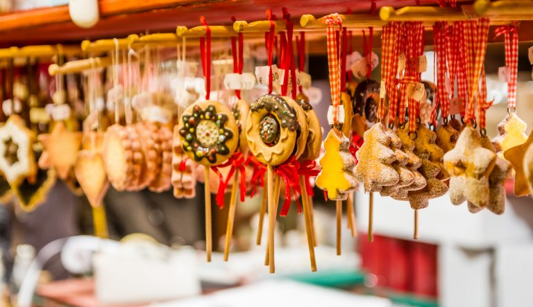 Century-old Christmas Markets - Gingerbread Christmas Ornaments, by Art In Voyage