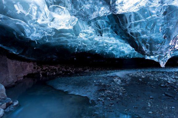 Jokulsarlon, Glacier & Caves