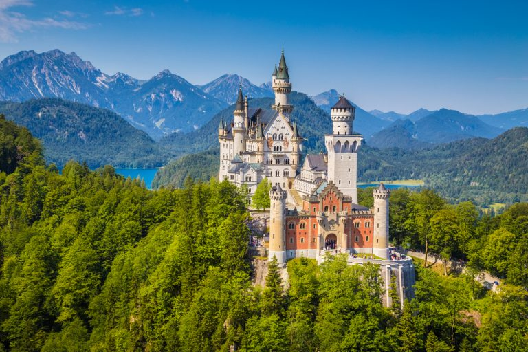 Neuschwanstein Castle, Germany, by Art In Voyage