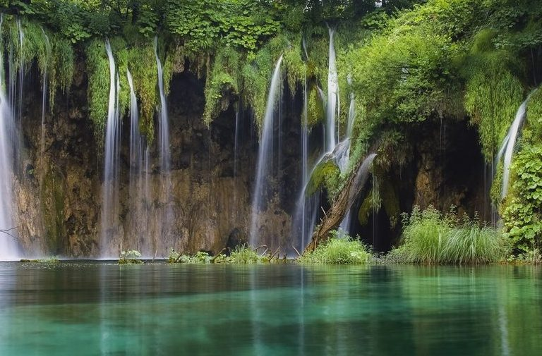 Waterfall in forest. Croatia, by Art In Voyage