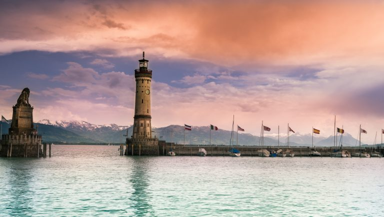 Port of Lindau, by Art In Voyage
