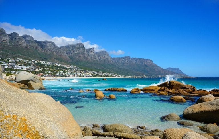 Best Warm Places To Visit In December - Camps Bay, South Africa | By Art In Voyage
