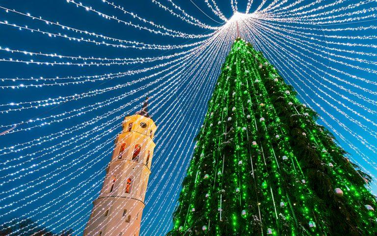 Christmas tree, Switzerland, by Art In Voyage