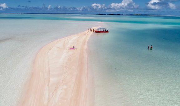 Kaurafara & Pink Sand Island
