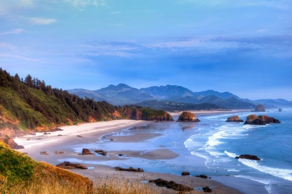 Cannon Beach & Haystack Rock