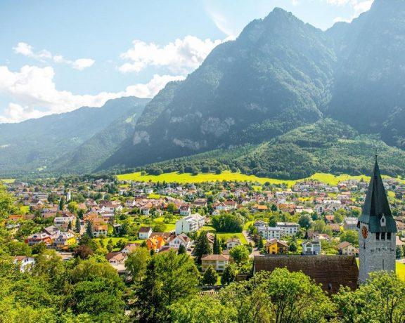 Liechtenstein & Lucerne - 90 miles