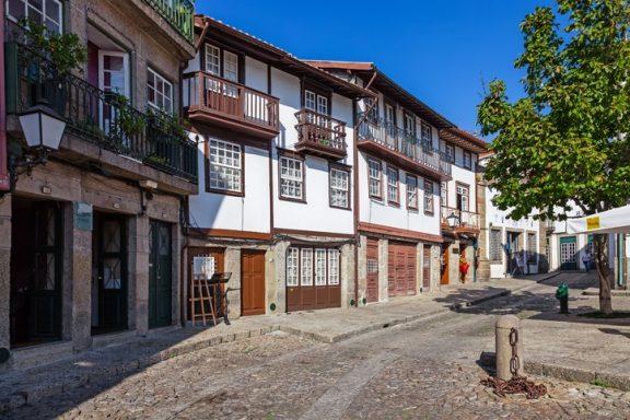 Guimaraes & colorful Porto