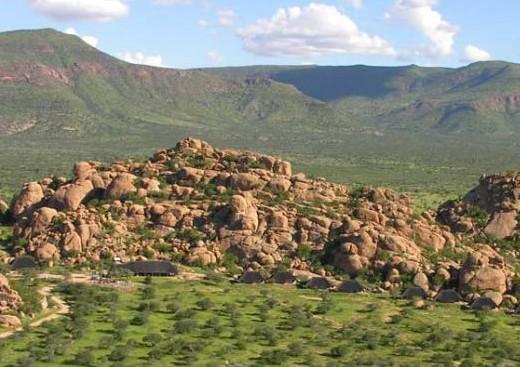 Windhoek to Erongo
