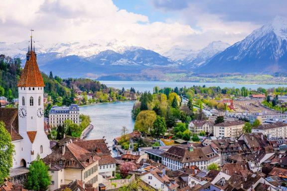 Bern-Baden Baden - 170 miles