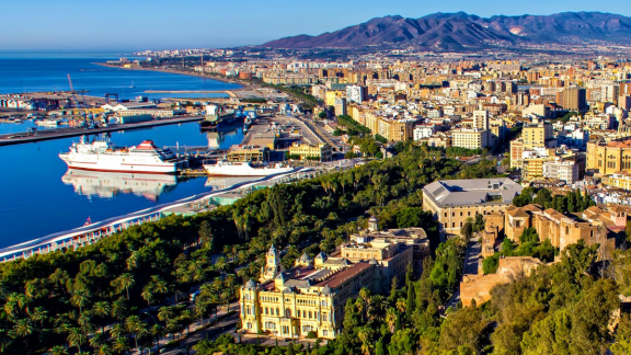 The Port City of Malaga