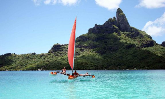 Day of leisure in Bora Bora