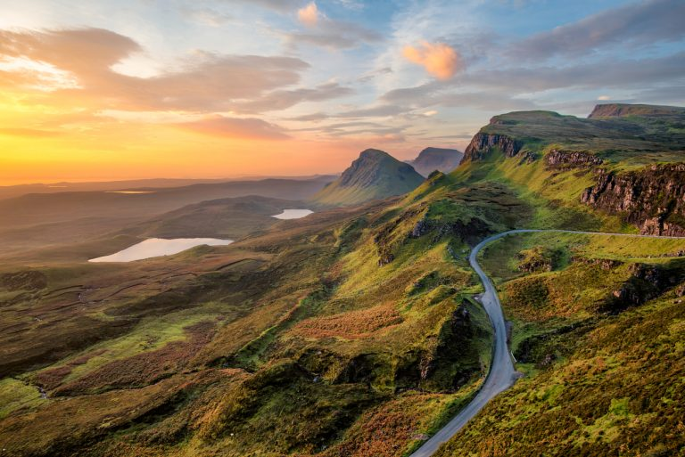 Quiraing at sunrise, Scotland, by Art In Voyage