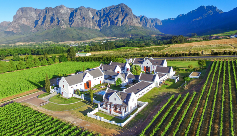 South Africa at a Glance - Zorgvliet Wine Estate, by Art In Voyage