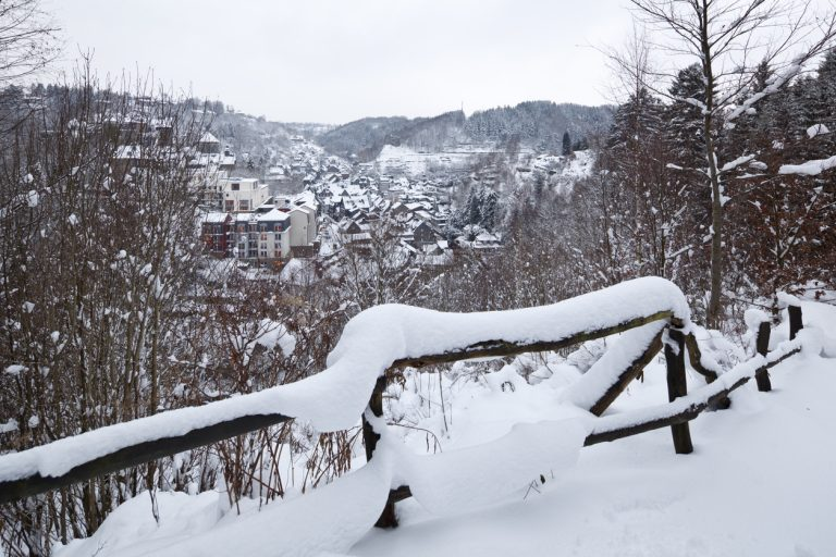 Snowy german town, by Art In Voyage