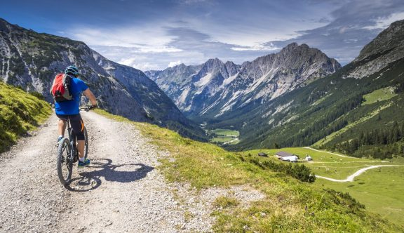 Biking trails of Verbier