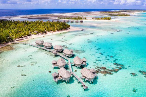 Extend to Tikehau or Bora Bora, in an overwater bungalow.