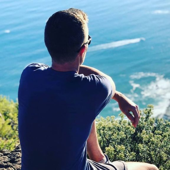 View from Lion's Head, in Cape Town
